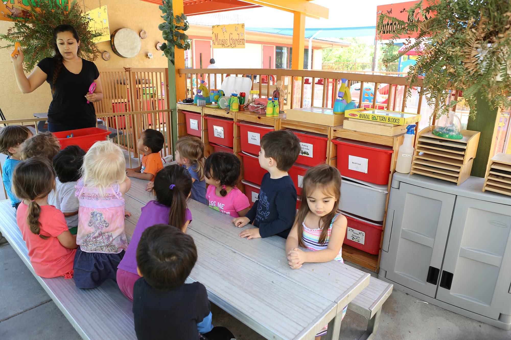 preschool in Laguna Hills outdoor-art