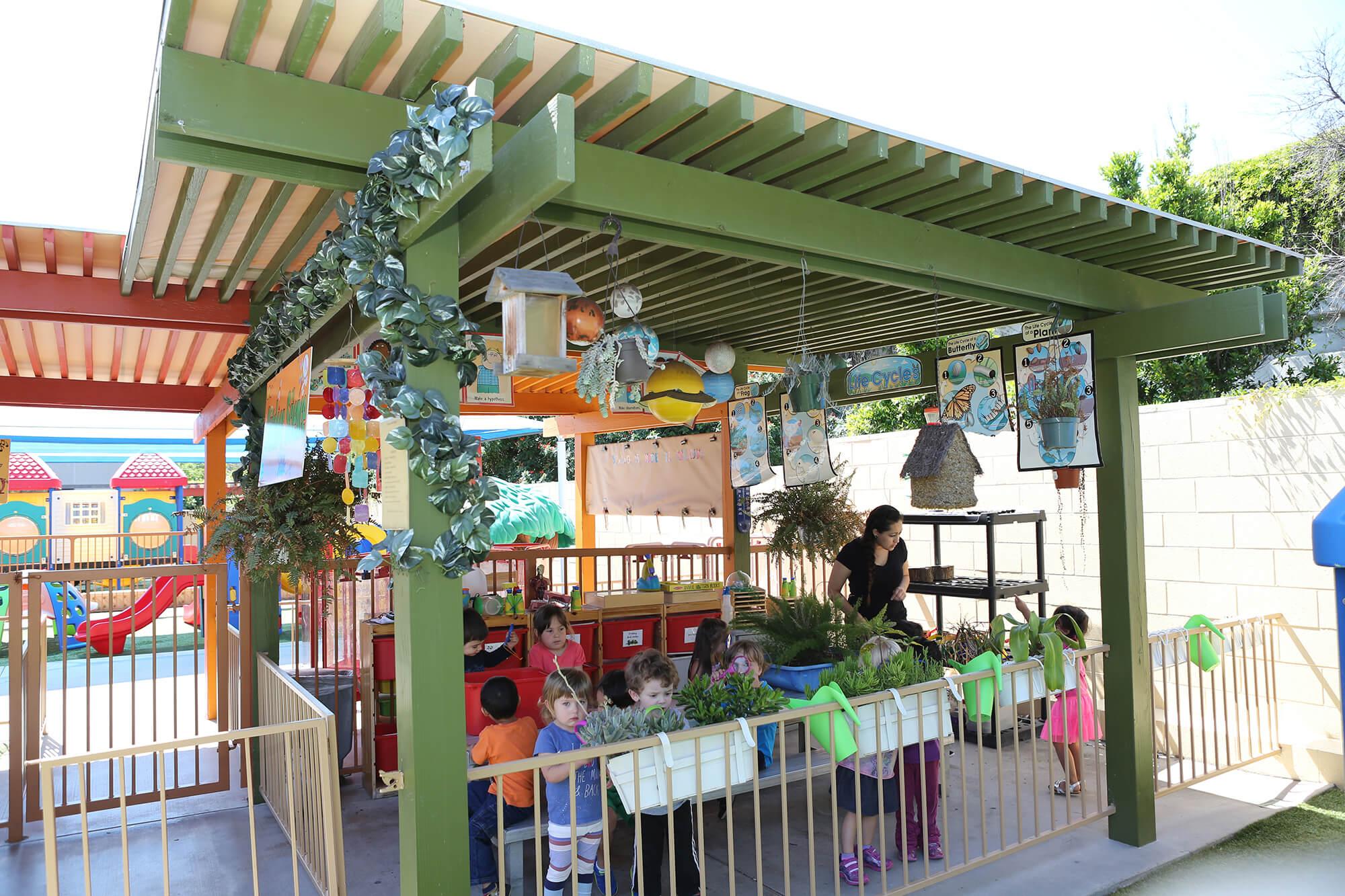 Aliso Viejo preschool outdoor-science